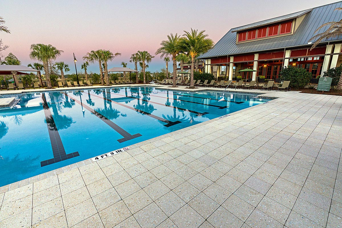 Commercial Pool Deck Designs