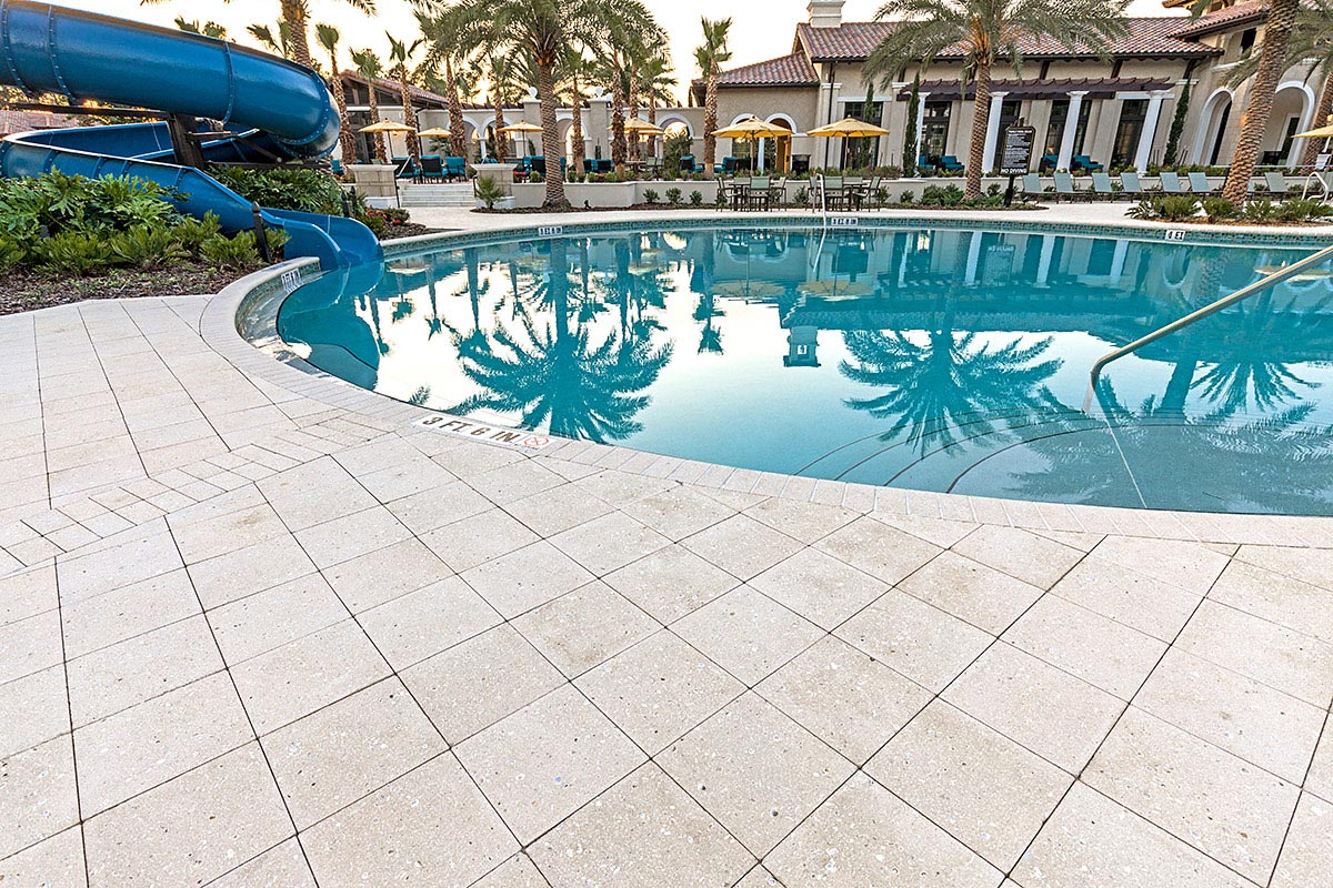 Commercial Pool Patio Pavers