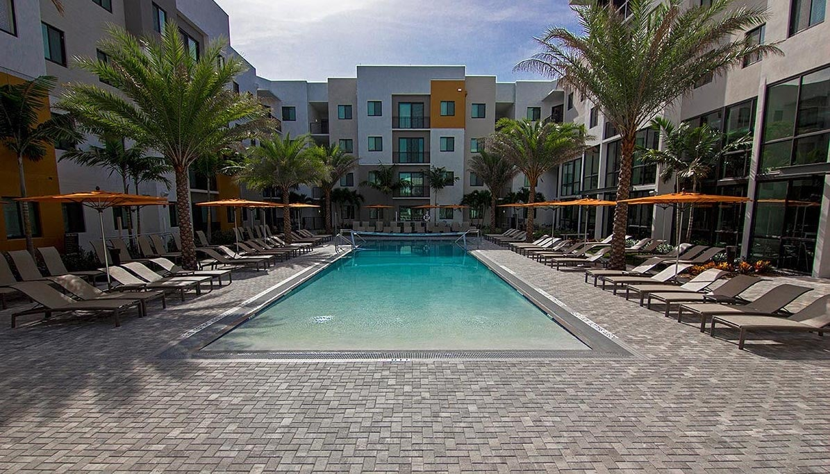 Commercial Pool Pavers