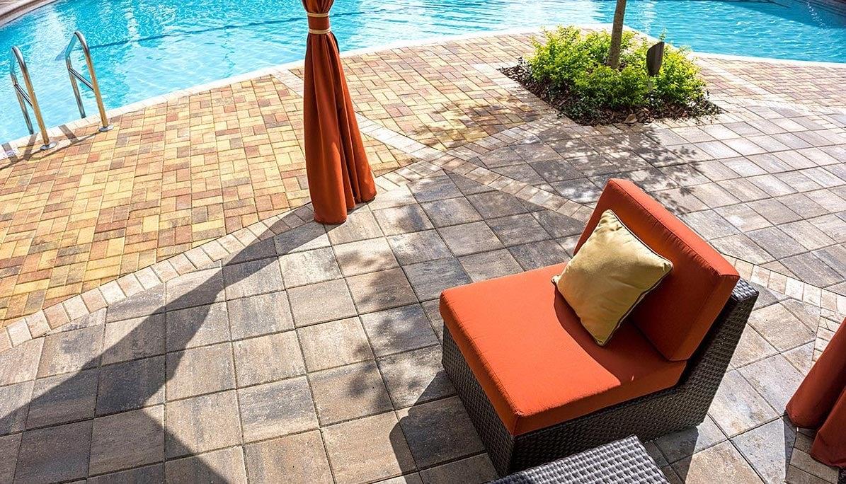Destin Commercial Pool Deck Pavers