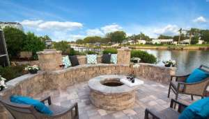 Destin Outdoor Fire Pit Pavers