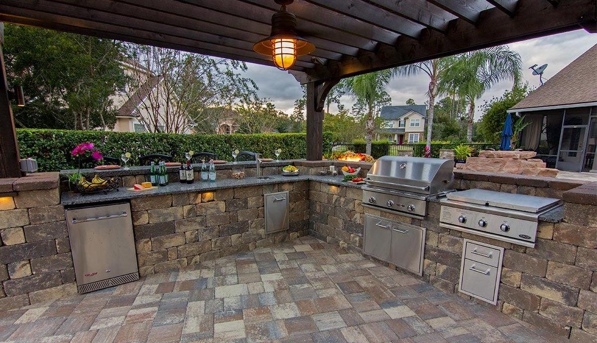 Destin Outdoor Kitchen Paving Company