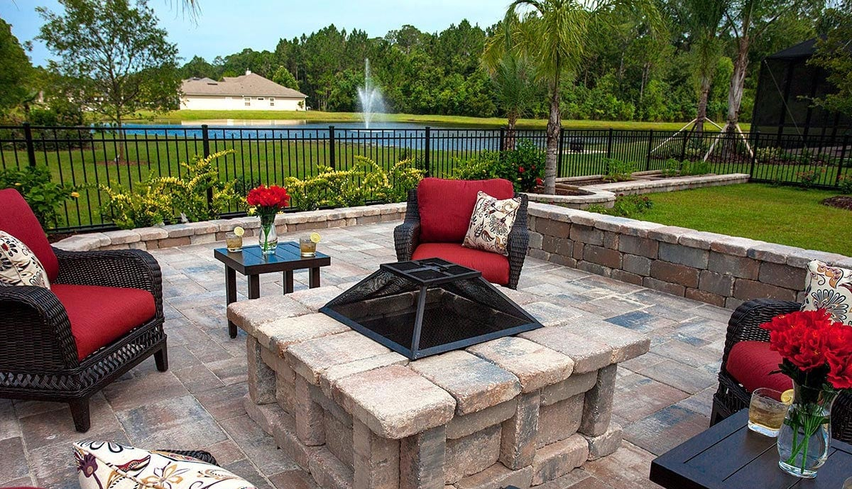 Destin Pavers for Fire Pits