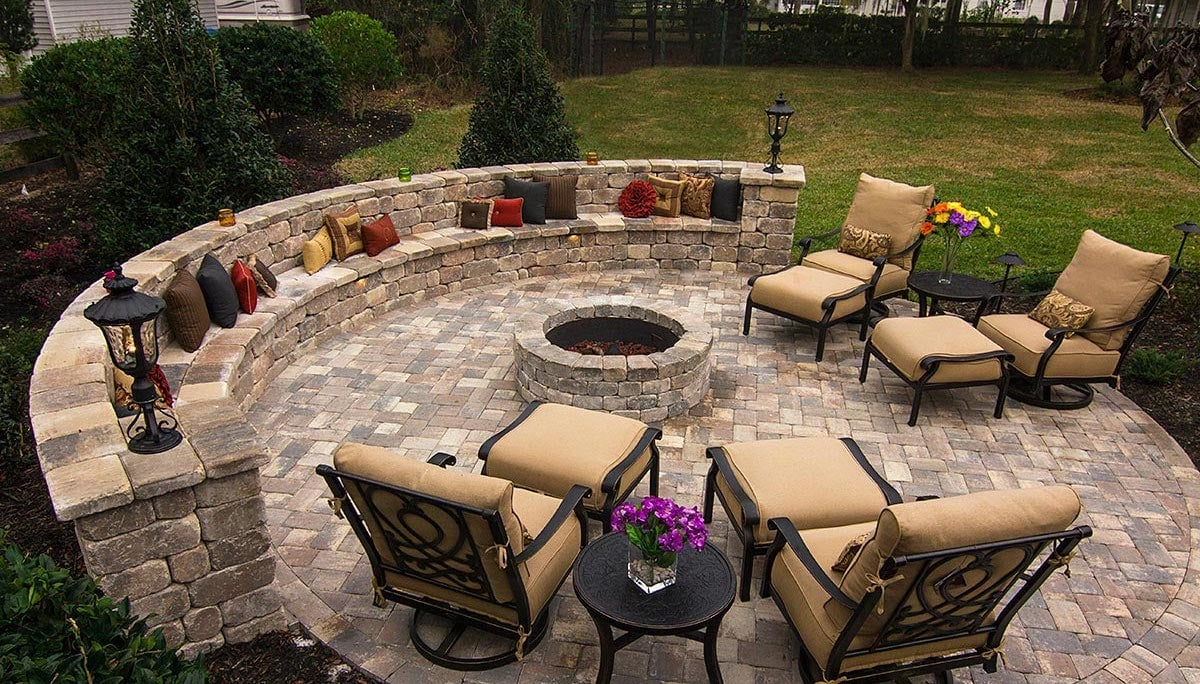 Outdoor Fire Pit Pavers