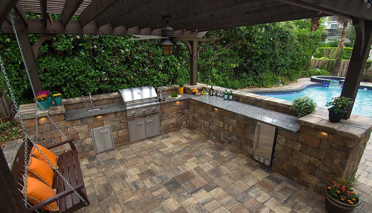 Outdoor Kitchen Paver Company