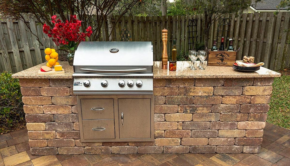 Outdoor Kitchen Pavers