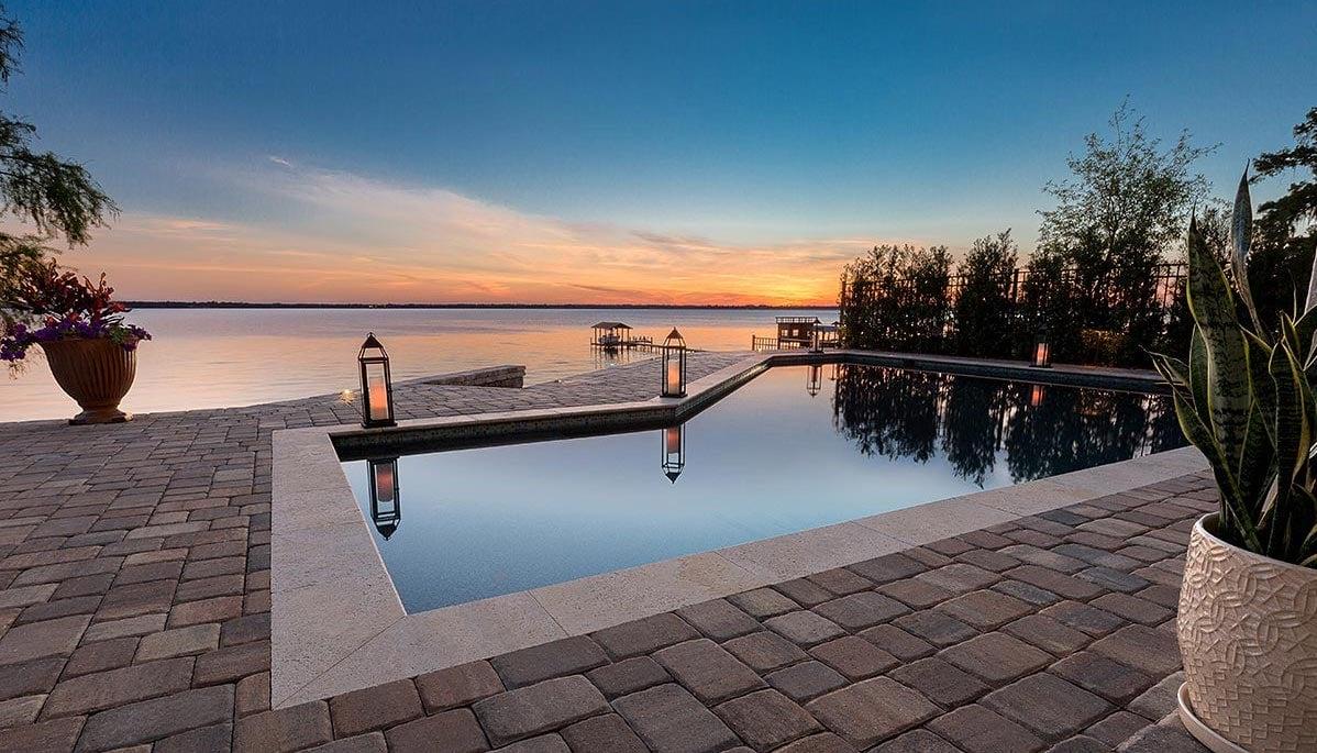 Paver Pool Deck Designs