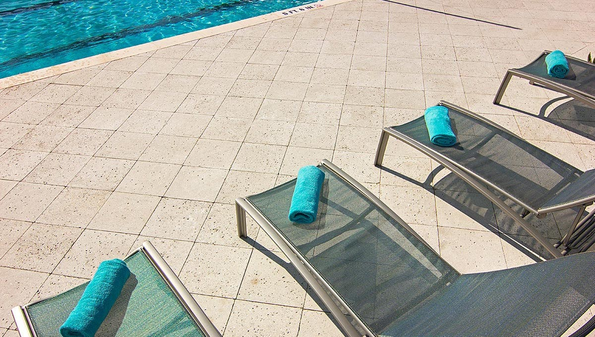 Pavers Around Commercial Pools