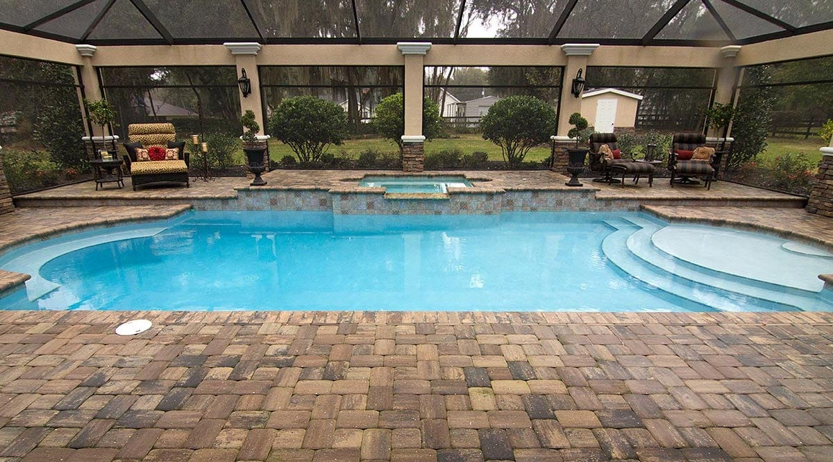 Pavers Around Pool
