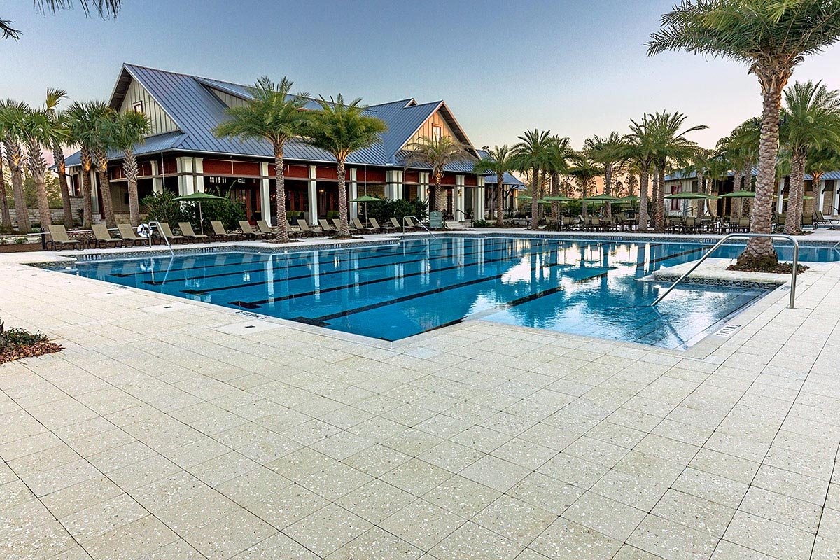 Pavers for Destin Commercial Pools