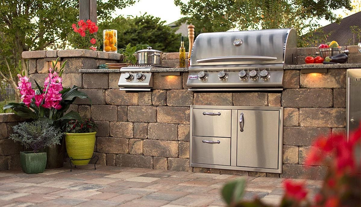 Pavers for Outdoor Kitchens Destin