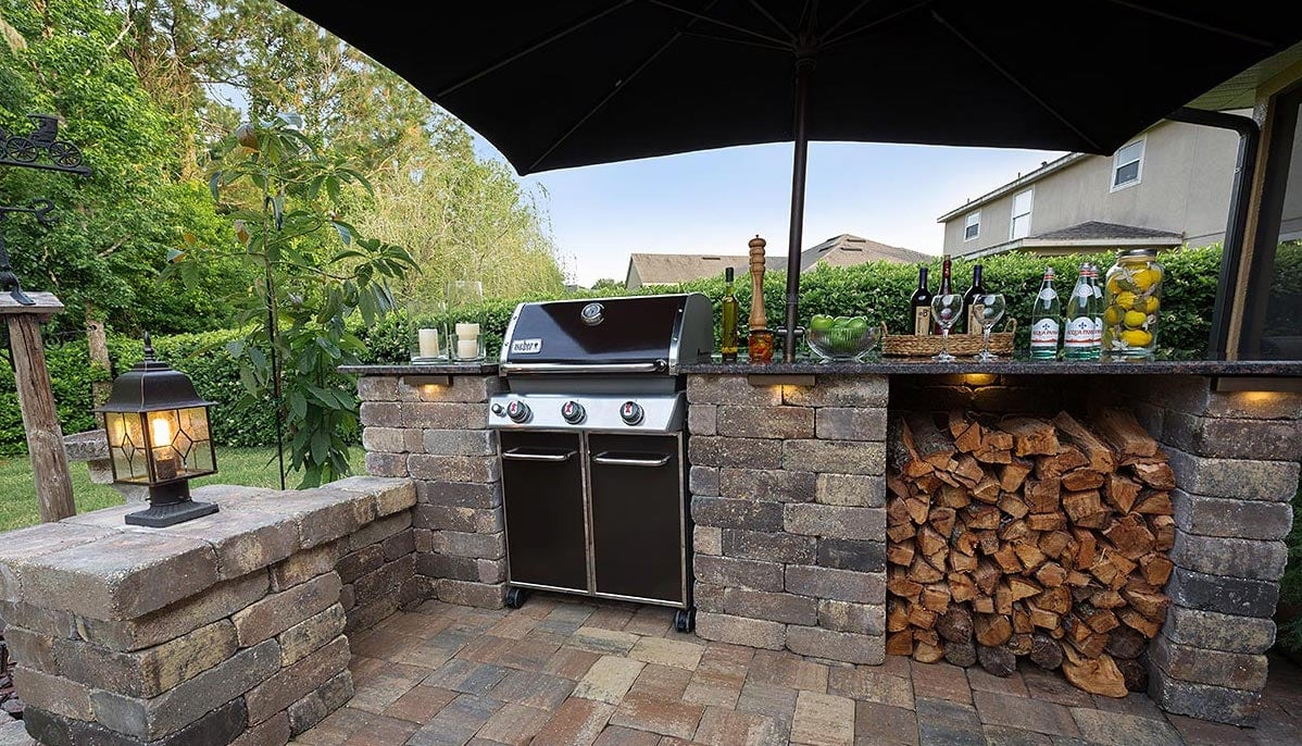 Pavers for Outdoor Kitchens