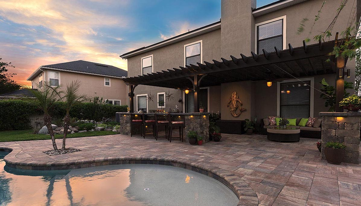 Pavers to use for Outdoor Kitchens