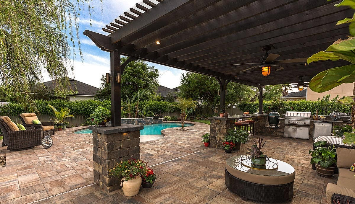 Residential Patio Pavers in Destin