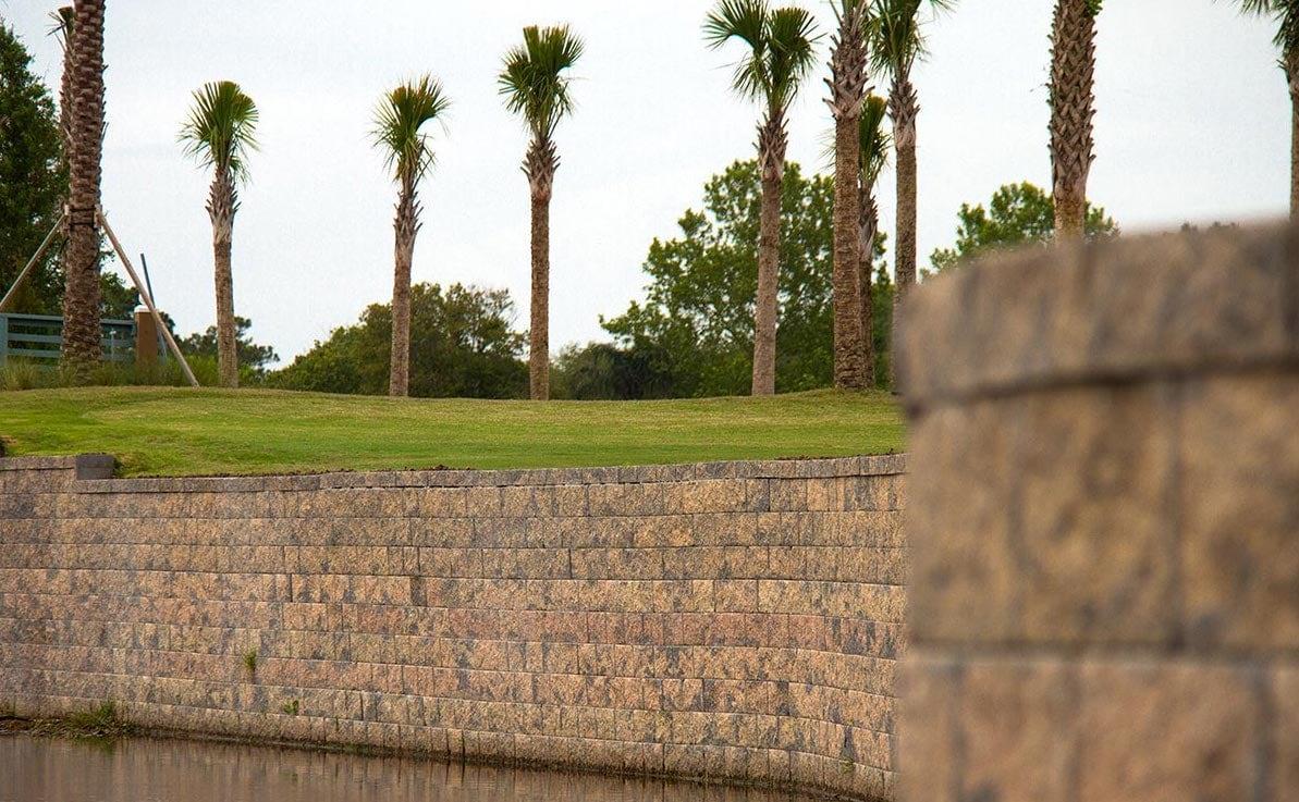 Stone Retaining Wall Pavers