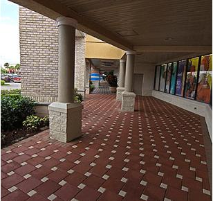 Park Plaza Paver Slabs