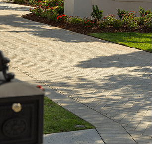 Plank Pavers White