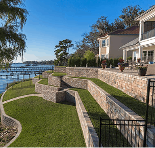 Stonegate Retaining Wall Pavers