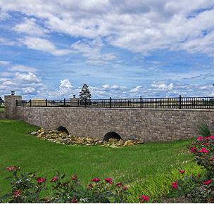 Stonegate Retaining Walls