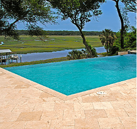 Travertine Slab Pavers